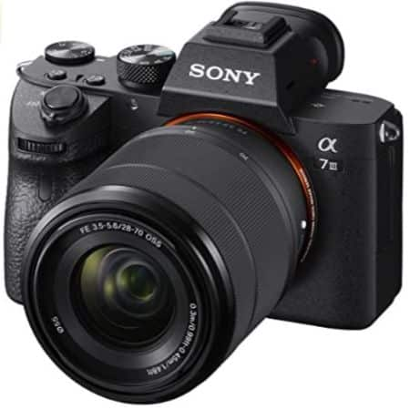 SONY A7 III - BEST CAMERAS FOR SHORT FILMS