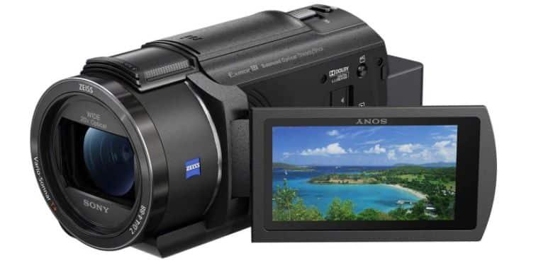 Sony FDR-AX43 - BEST 4K CAMCORDER UNDER 1000