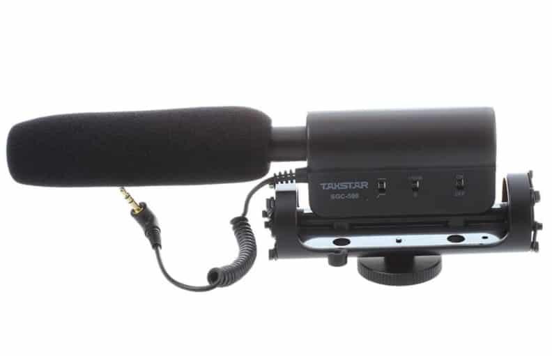 TAKSTAR SGC-598 - BEST CHEAP DSLR MICROPHONE
