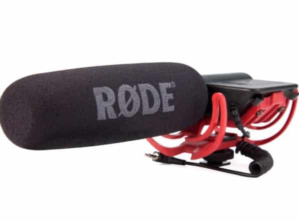 Rode VideoMic - BEST CHEAP DSLR MICROPHONE