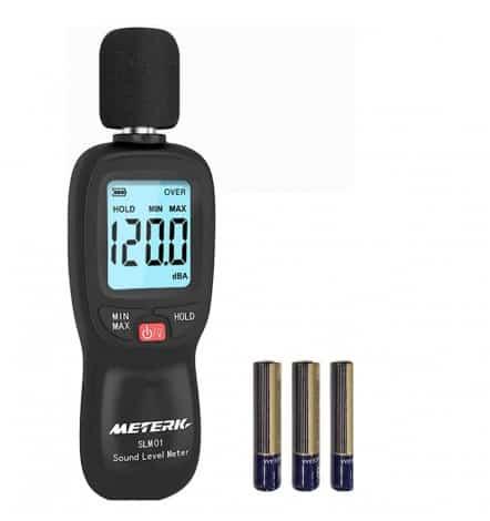 Meterk - best SPL meter