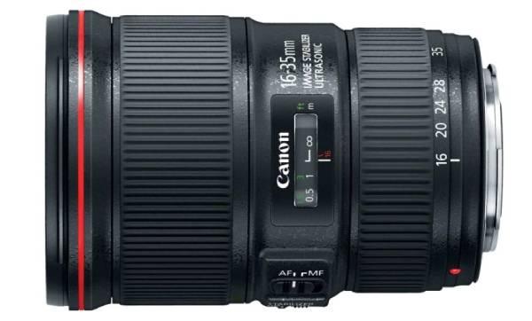 canon EF 16-35 - best lens for vlogging