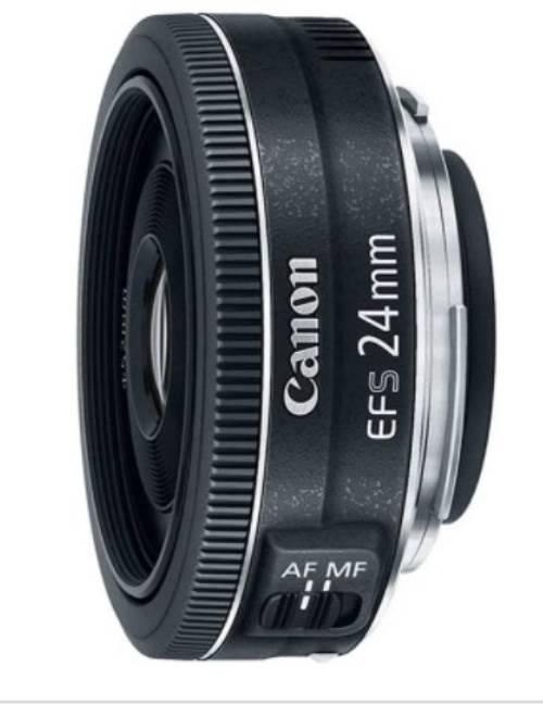 Canon EF-S 24mm - best lenses for Canon t3i
