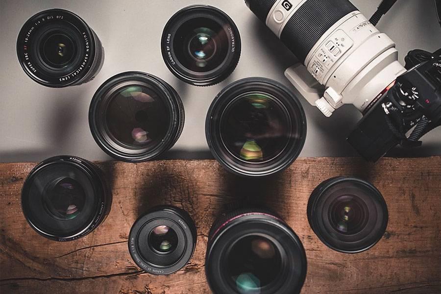 Camera Lens And Equipment Storage Idea