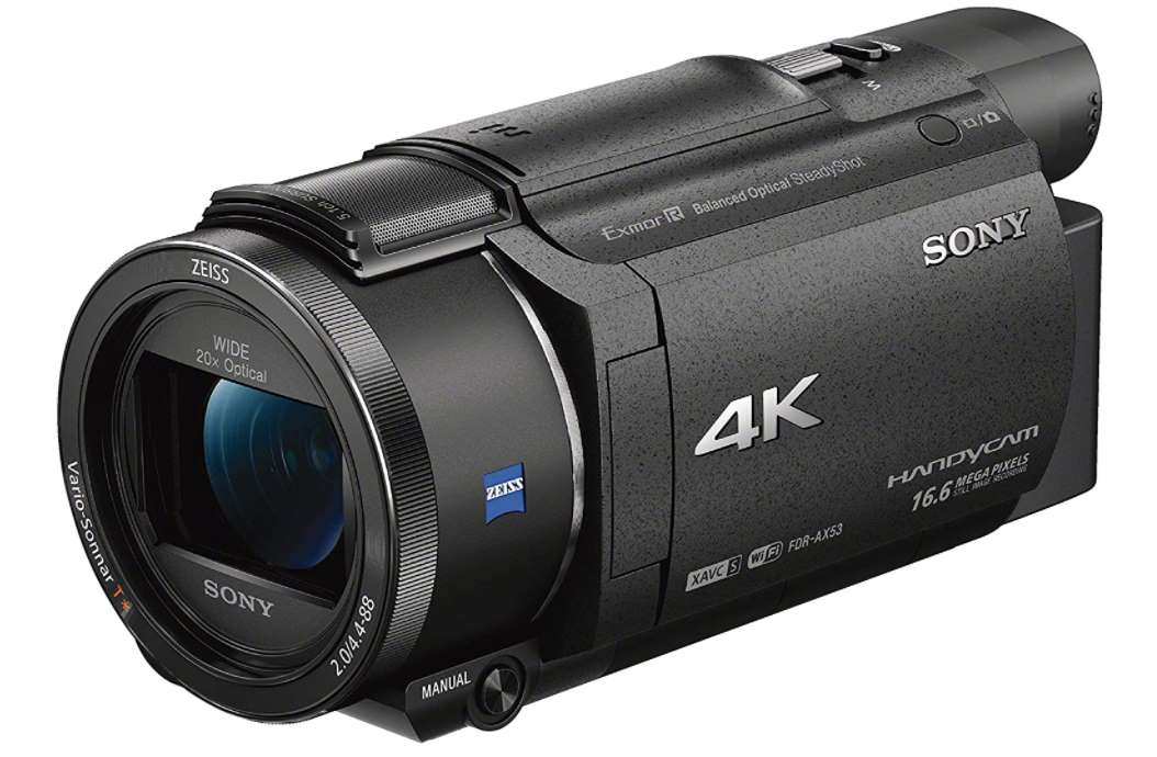 Sony FDRAX53-B - best sony video camera