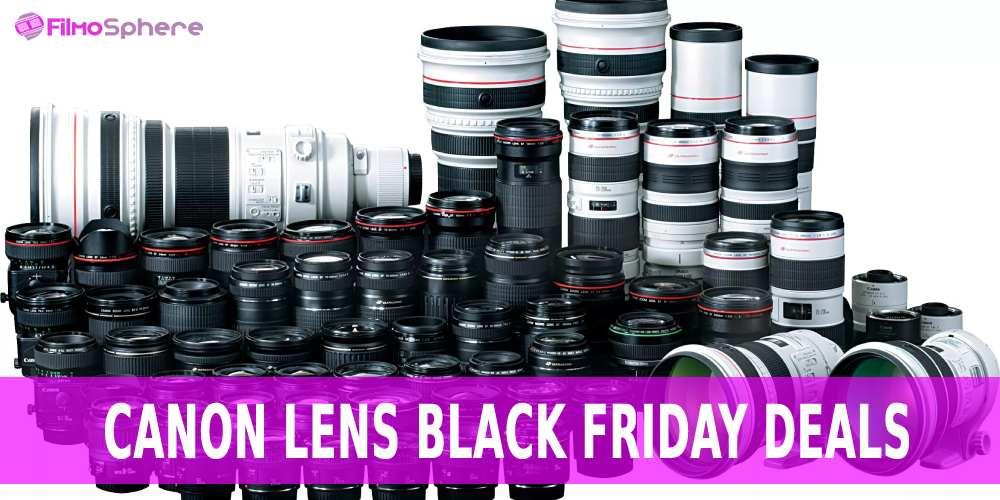 Canon lens black friday deals