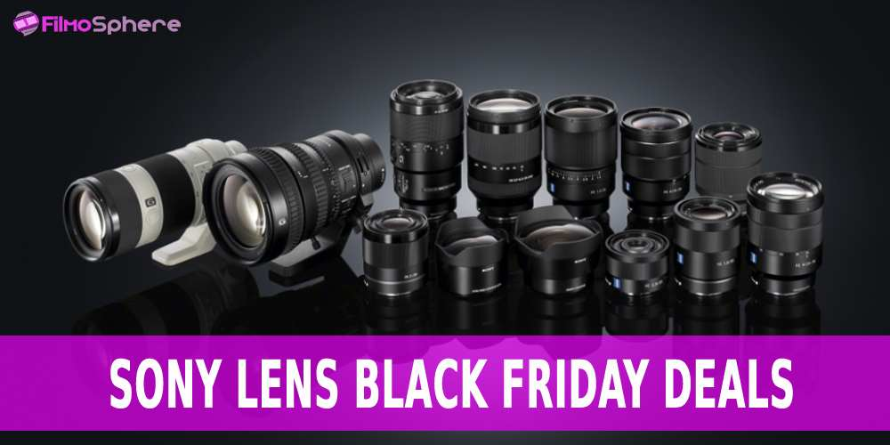 sony lens black friday deals