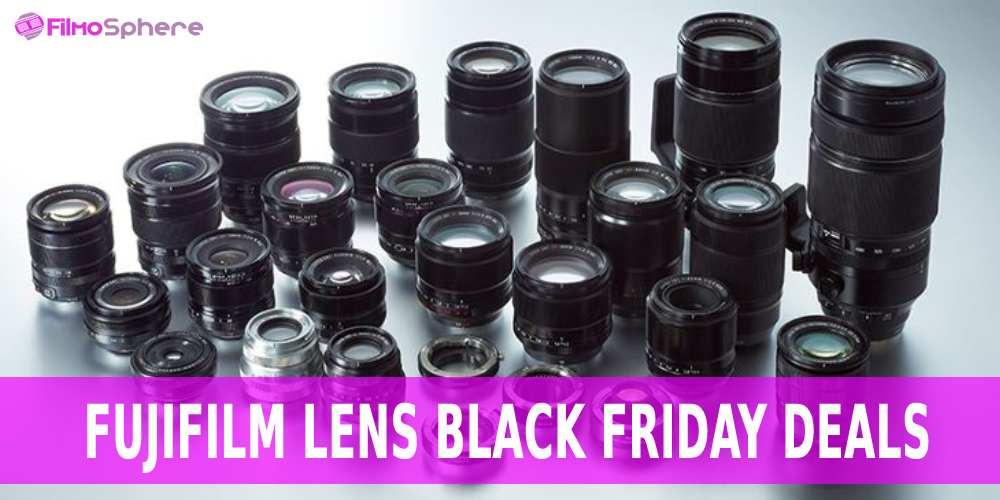 Fujifilm lens black friday deals
